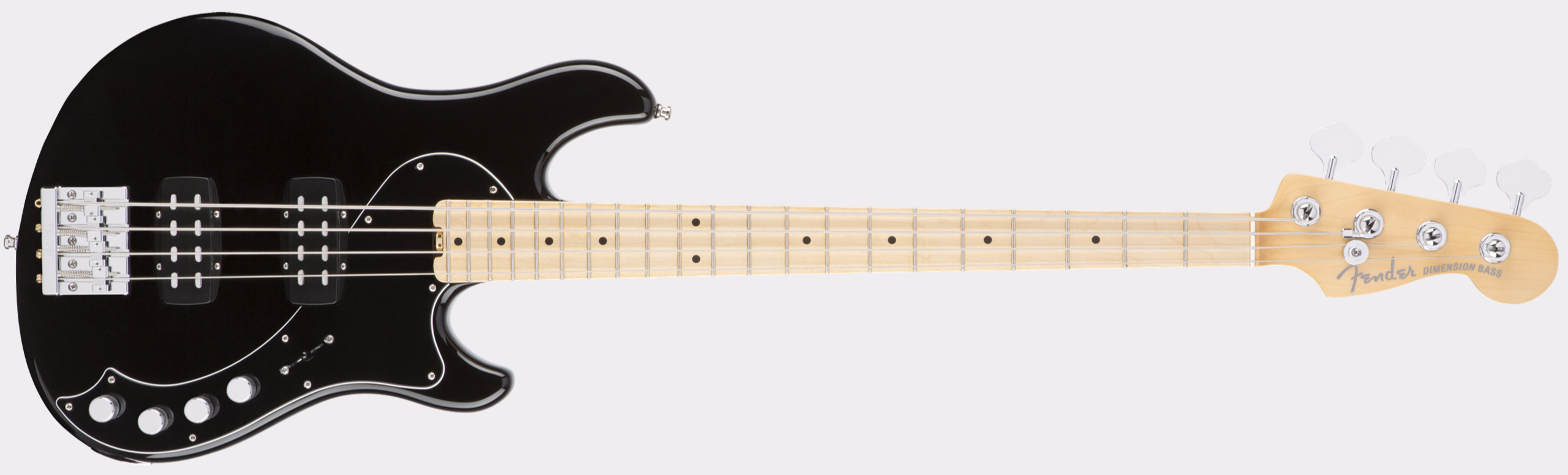 FENDER American Elite Dimension Bass IV HH MN Black