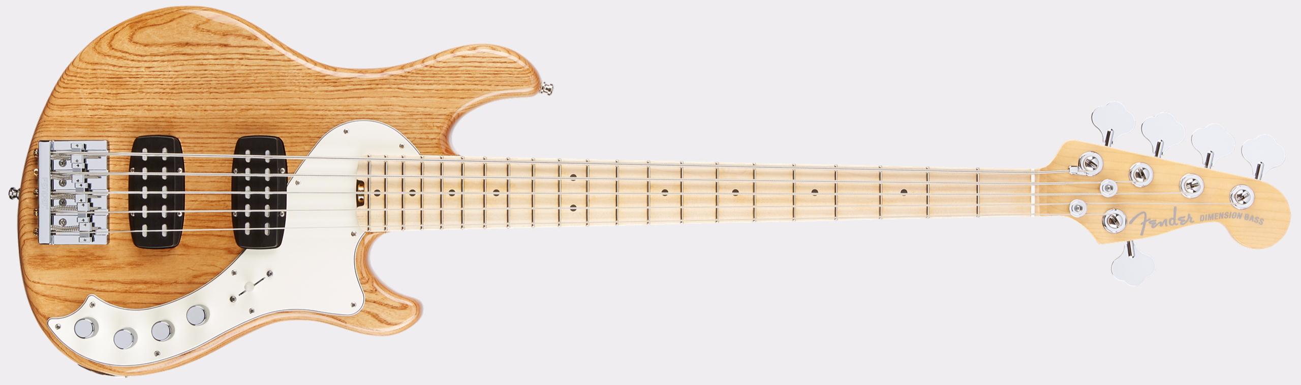 FENDER American Elite Dimension Bass V HH MN Natural