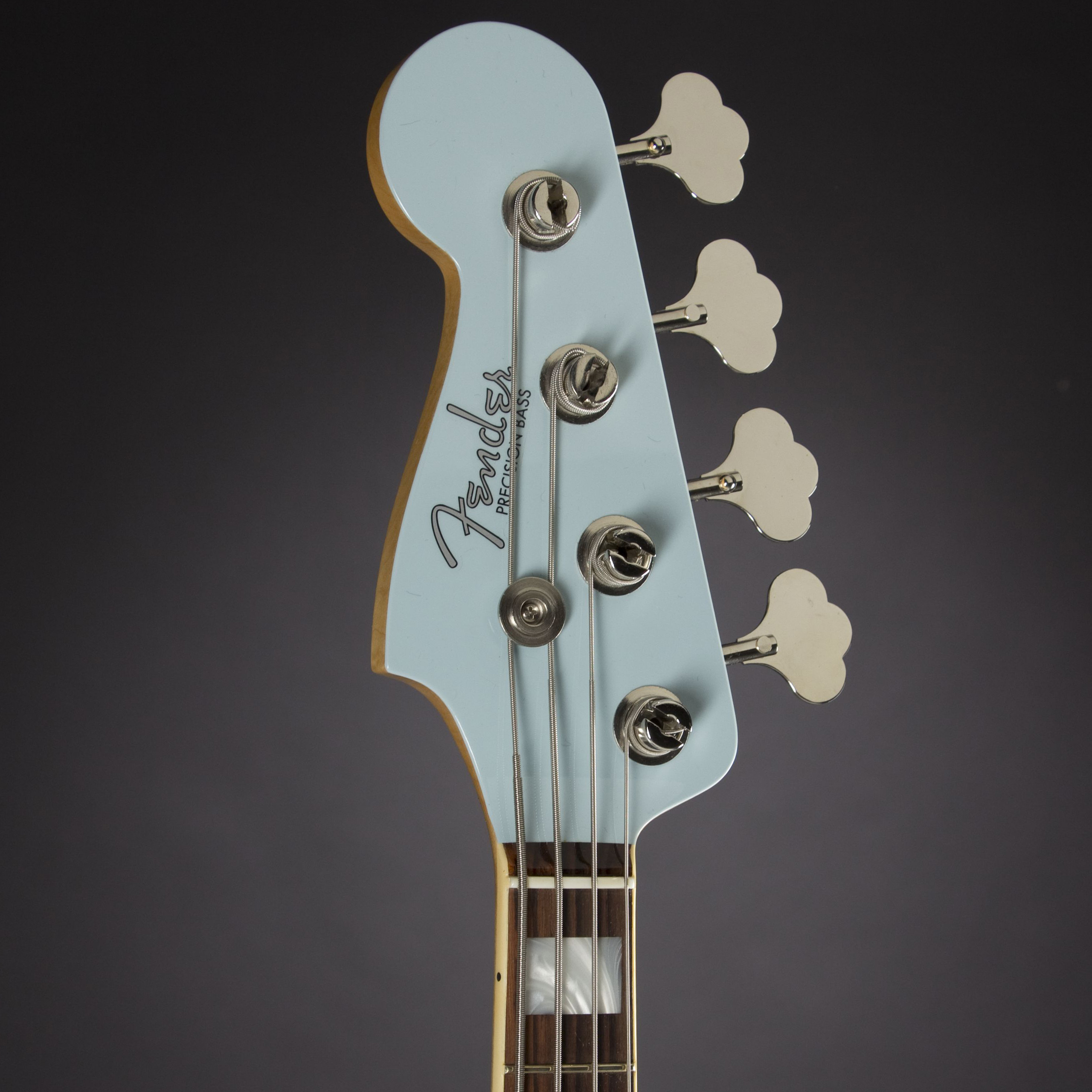 FENDER 1959 Precision Bass NOS Sonic Blue Masterbuilt Jason Smith #1154 Kopfplatte