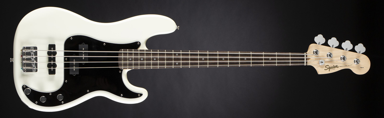 FENDER SQUIER Affinity Series Precision Bass PJ Olympic White