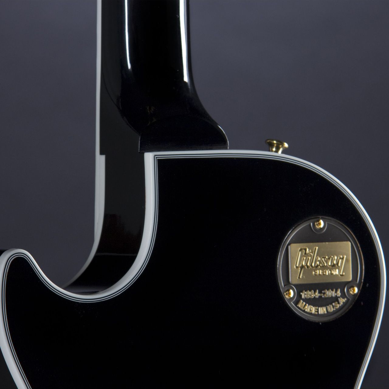 Gibson Les Paul Custom Ebony Neck