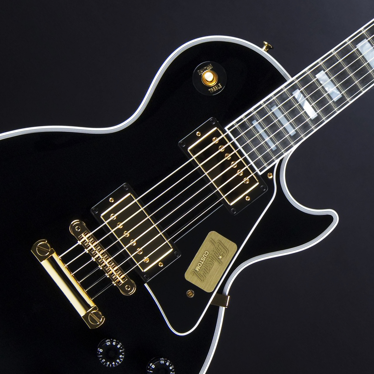Gibson Les Paul Custom Ebony Pickups