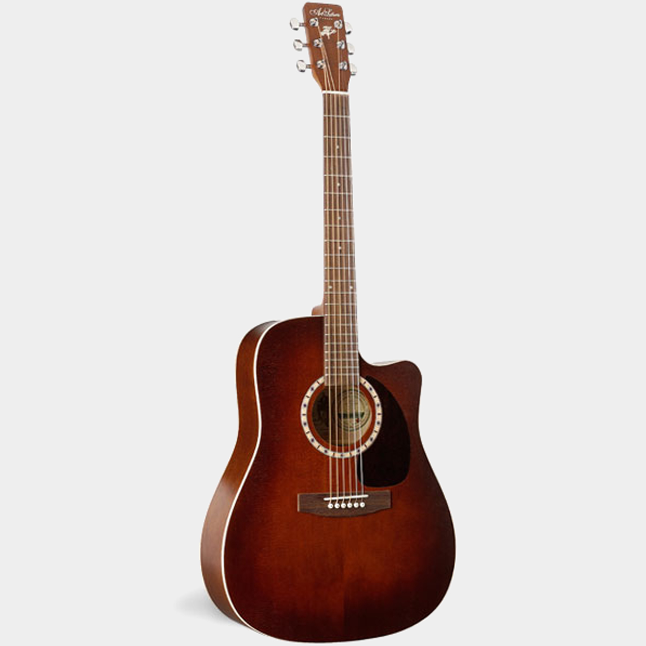Art & Lutherie CW Cedar Antique Burst Front