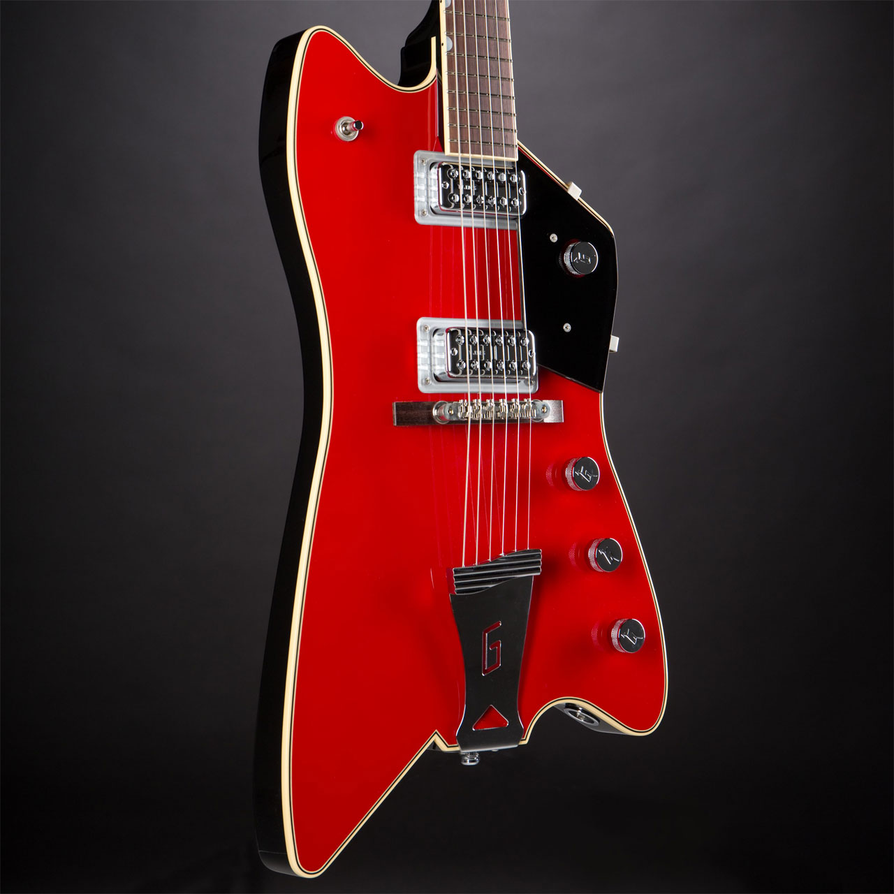 GRETSCH G6199 Billy-Bo Jupiter Thunderbird Firebird Red Korpus