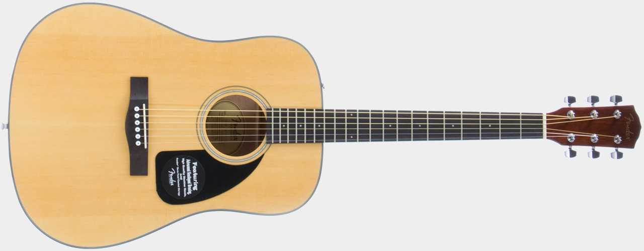 FENDER CD-60 Dreadnought NT