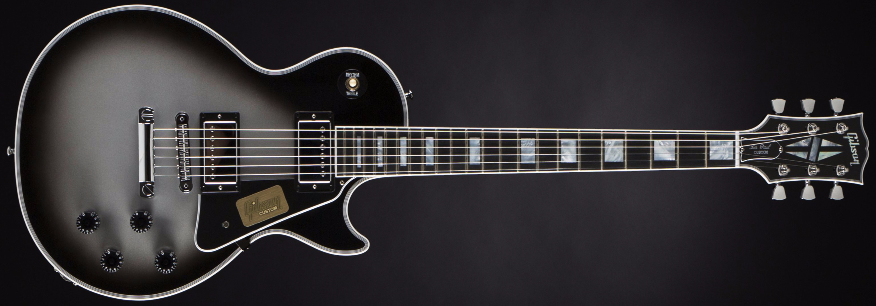 Gibson Les Paul Custom Silverburst Front
