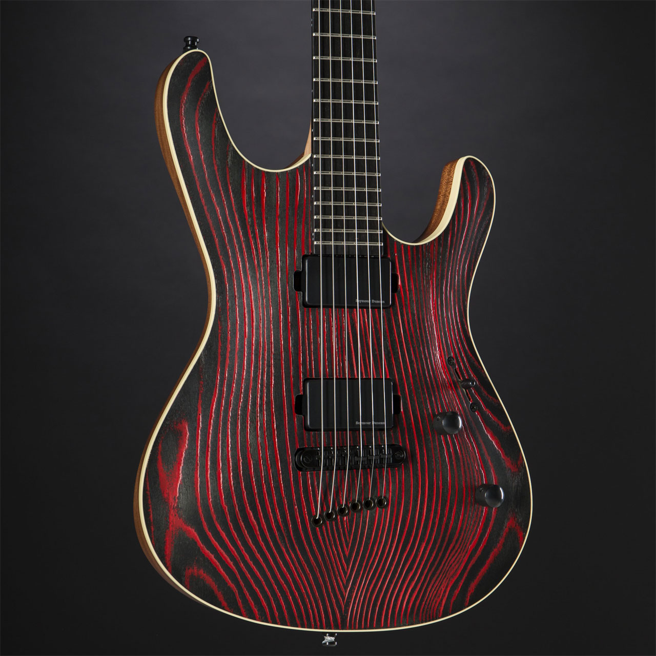 MAYONES Setius Gothic 6 Monolith Black Pored Red Korpus