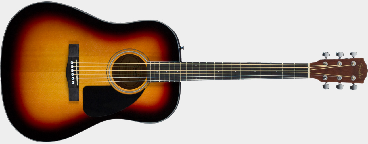 FENDER CD-60 Dreadnought Sunburst