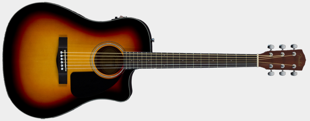 FENDER CD-60CE Dreadnought Sunburst