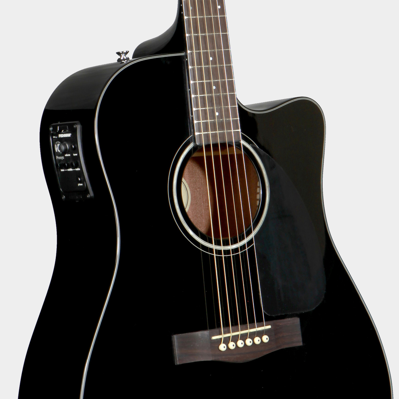 Fender CD-140 SCE Dreadnought Black