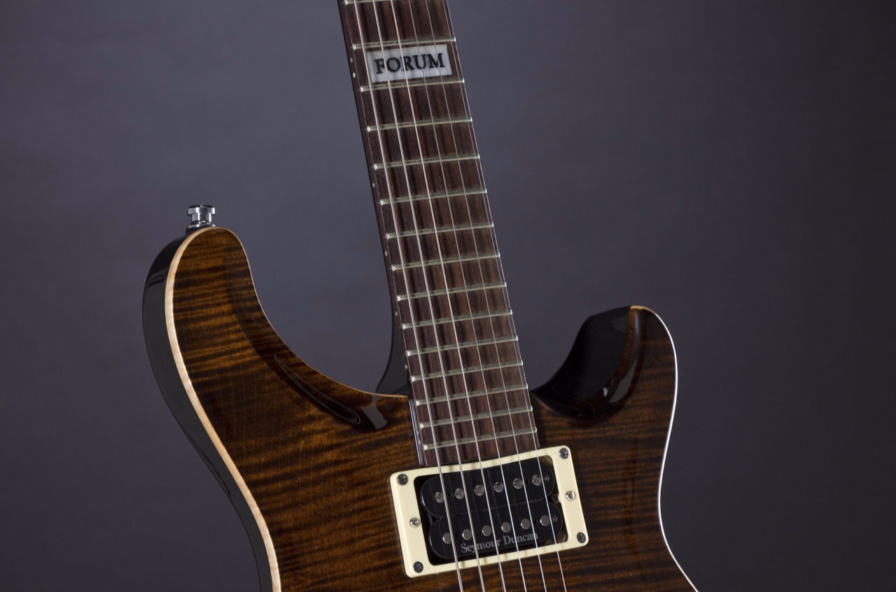 Fame Forum III Translucent Brown Neck