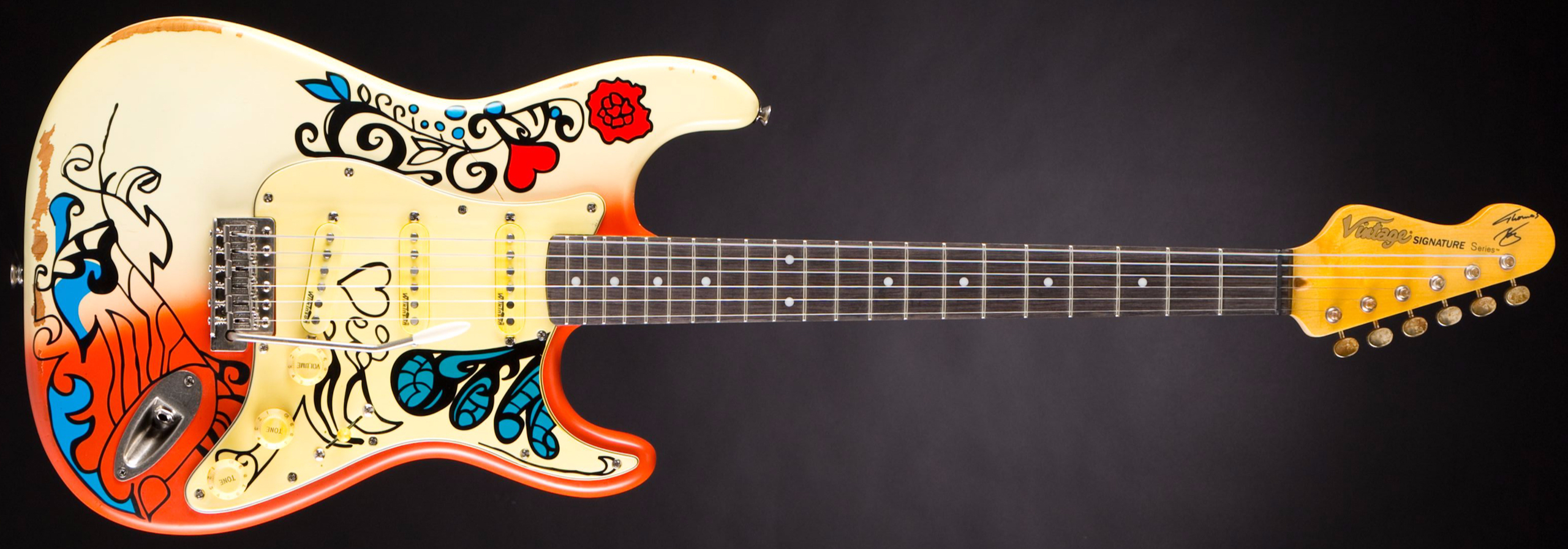 "Vintage V6MRHDX Thomas Blug Signature ""Summer of Love"""