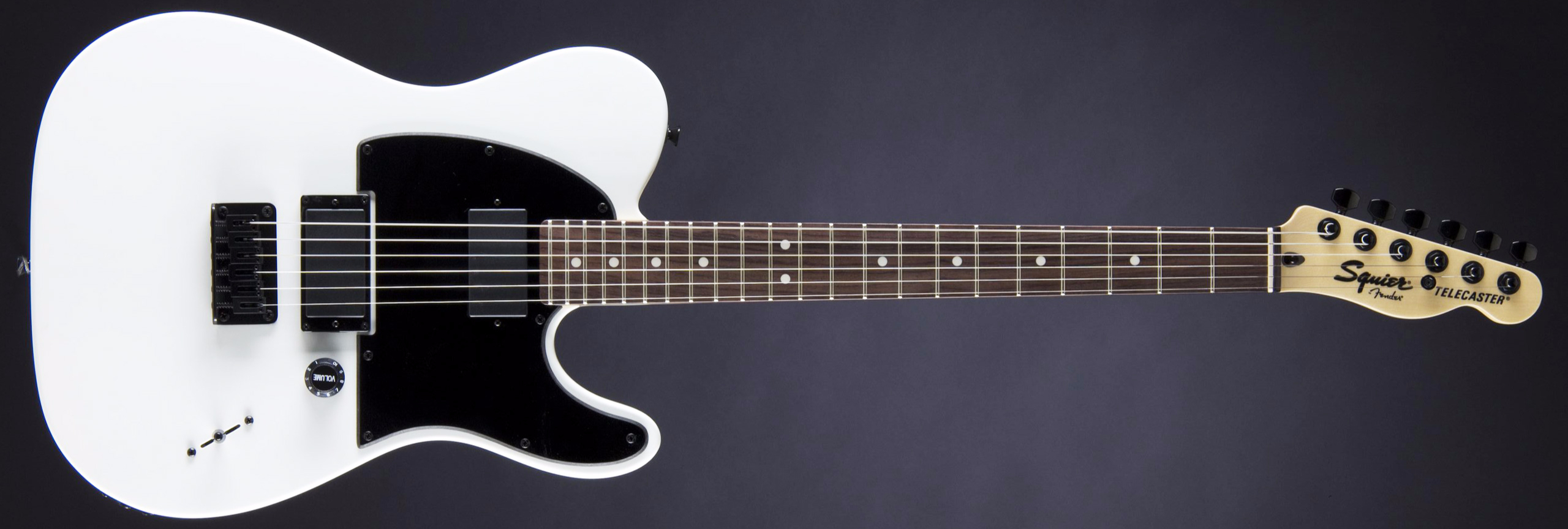 FENDER SQUIER Jim Root Telecaster RW Flat White
