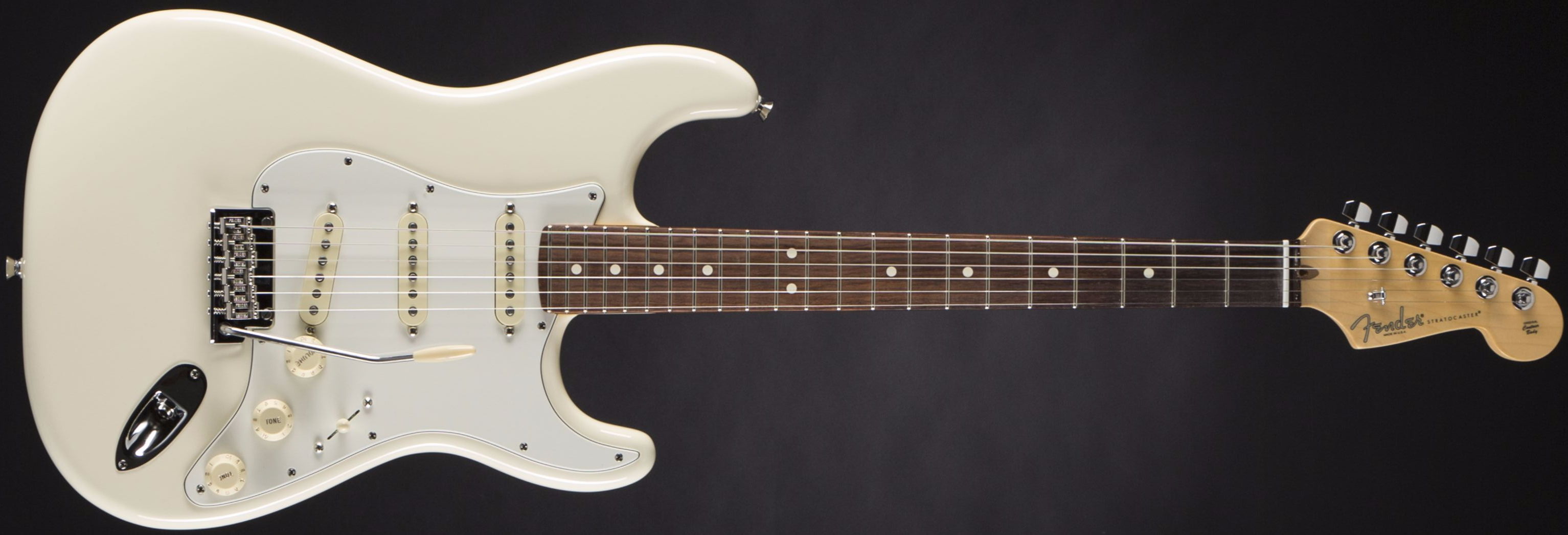 Fender American Standard Strat RW OWT Front