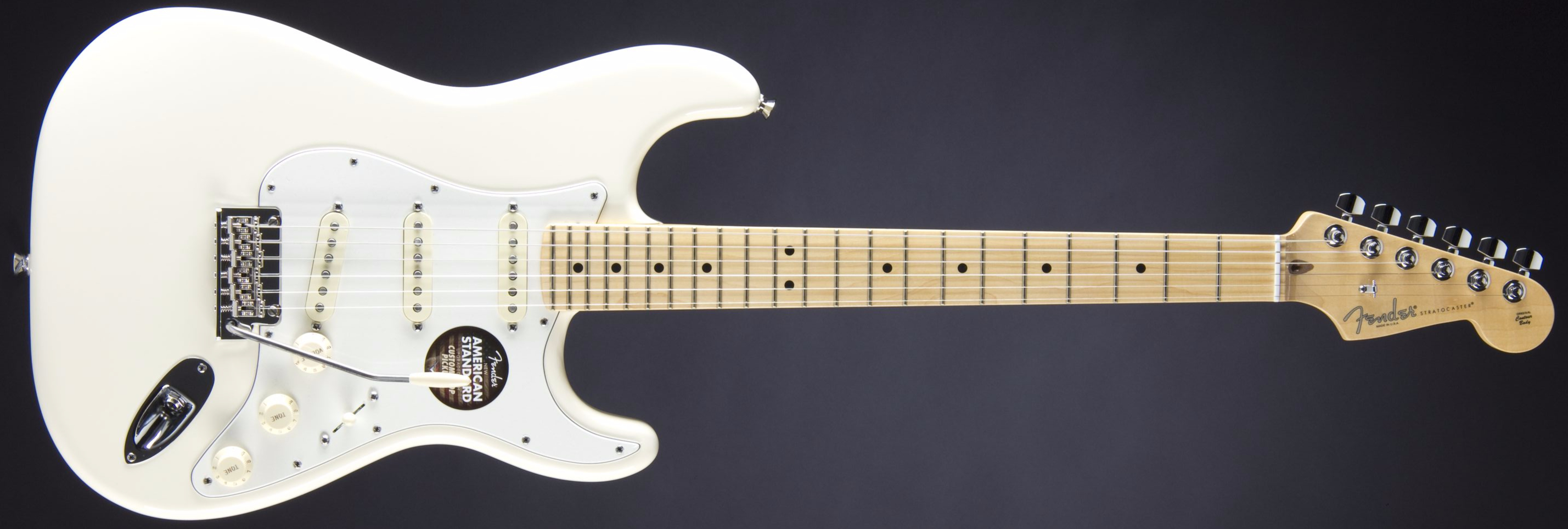 Fender American Standard Strat MN OWT Front