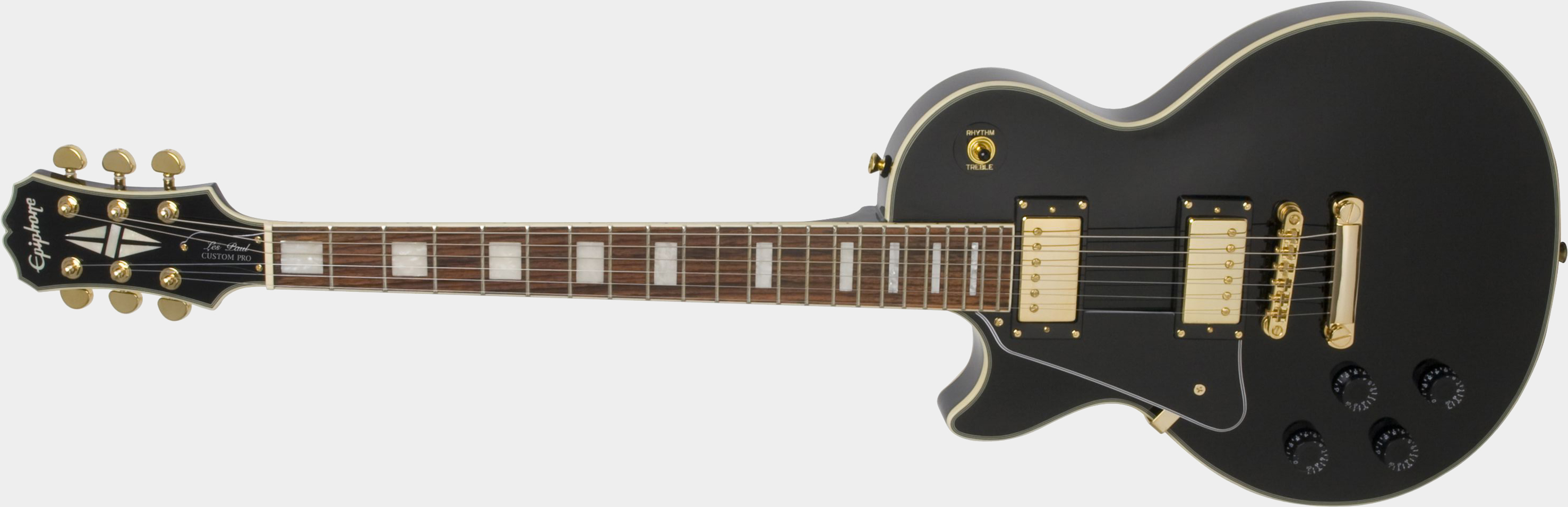 EPIPHONE Les Paul Custom PRO Ebony Lefthand