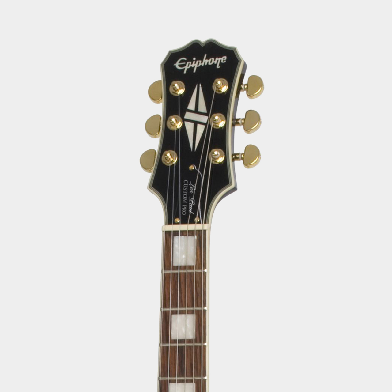 EPIPHONE Les Paul Custom PRO Ebony Lefthand Headstock