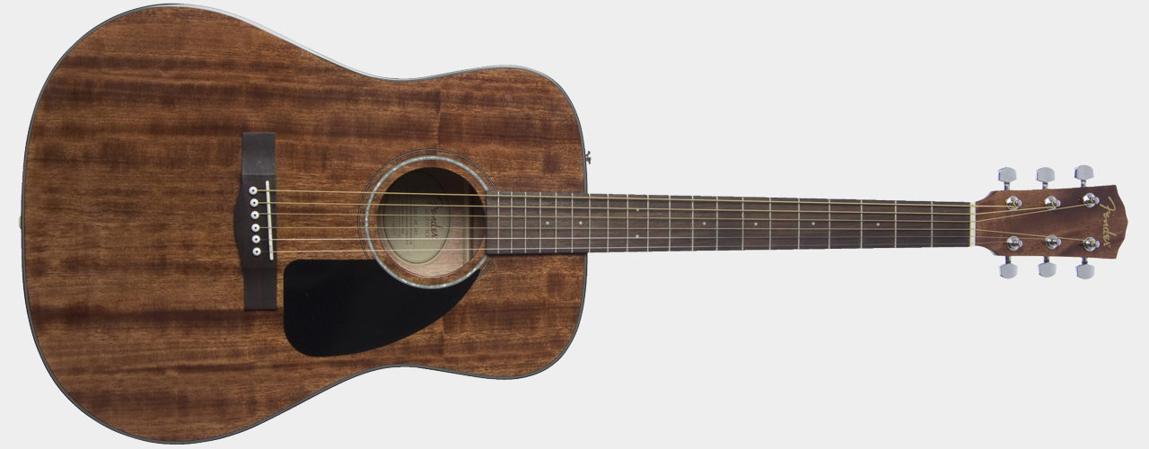 FENDER CD-60 Dreadnought All Mahogany