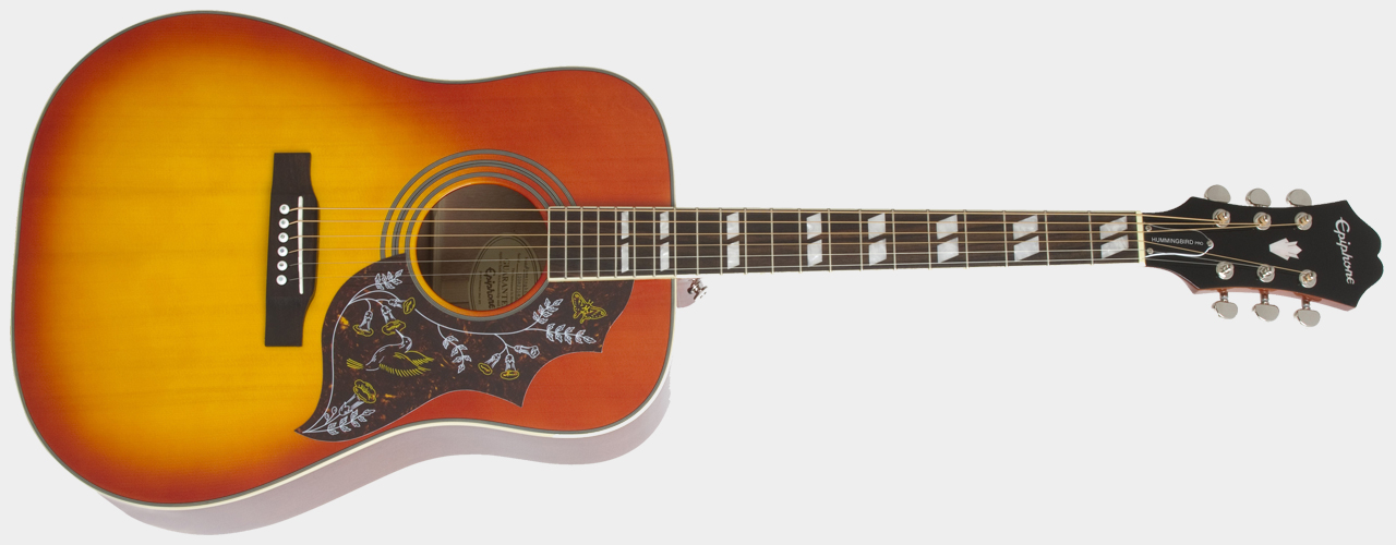 EPIPHONE Hummingbird Pro FC Faded Cherry Sunburst