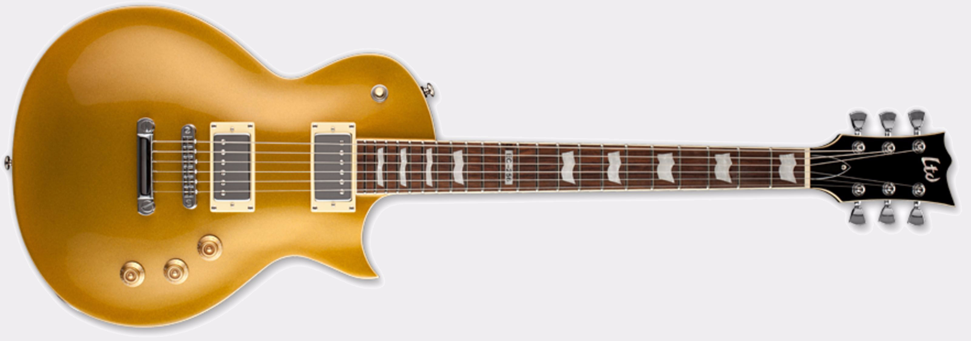 ESP LTD EC-256 Metallic Gold Front