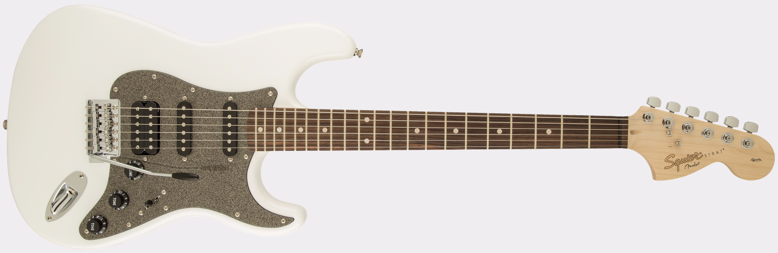 SQUIER Affinity Series Stratocaster HSS RW Olympic White