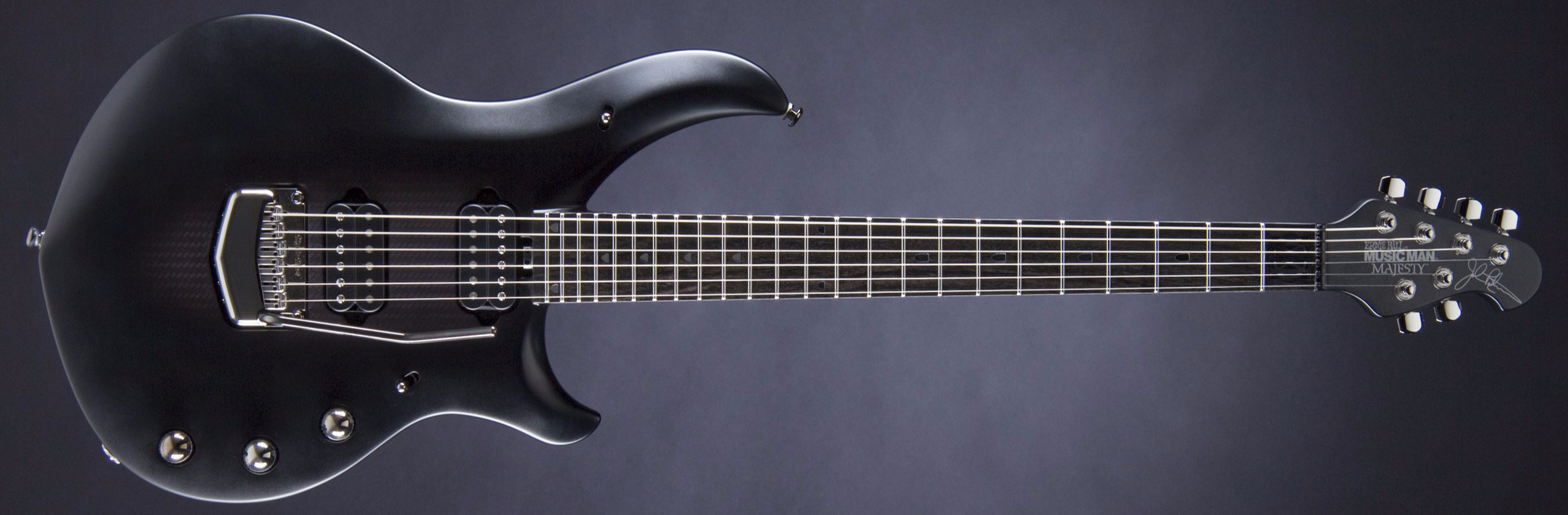 MUSIC MAN John Petrucci Majesty Polar Noir