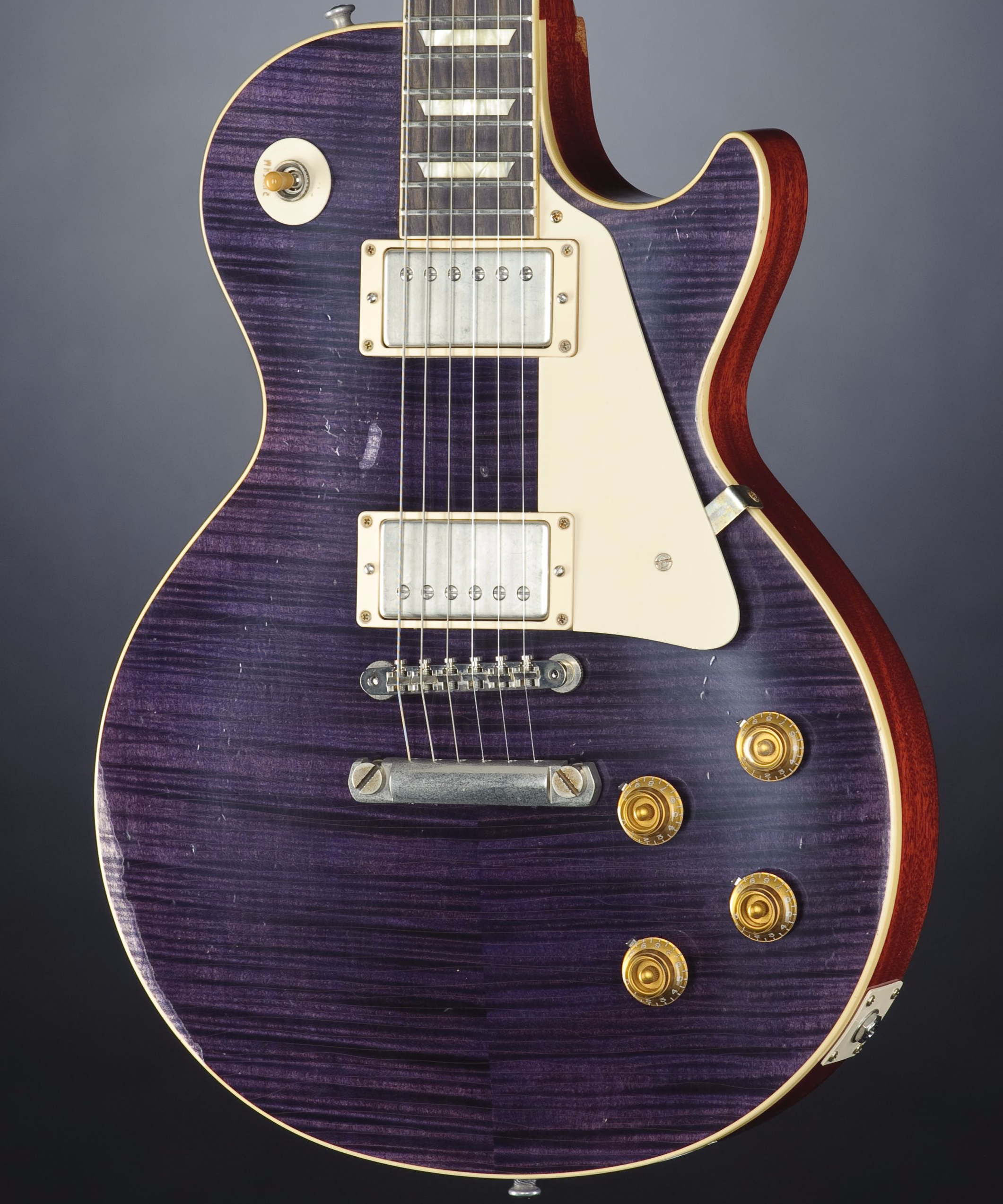 GIBSON 1959 Les Paul Heavy Aged Plum Stain Body
