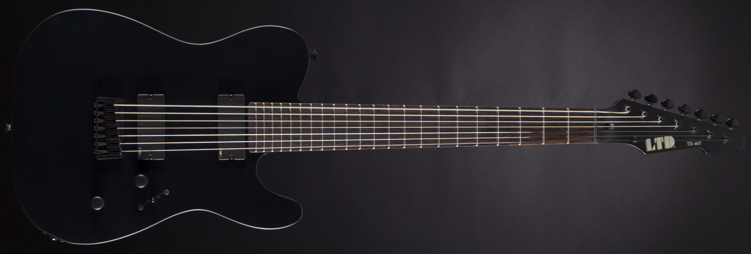 ESP LTD TE-407 Black Satin