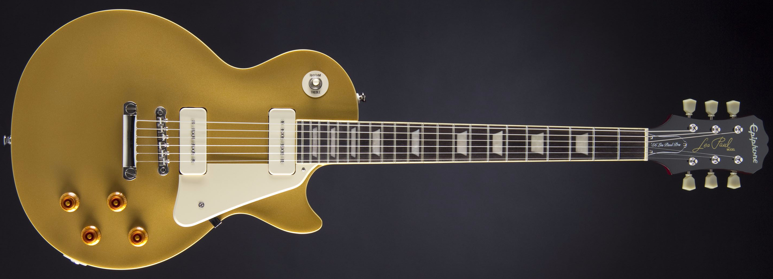 Epiphone 1956 Les Paul Standard Pro Metallic Goldtop