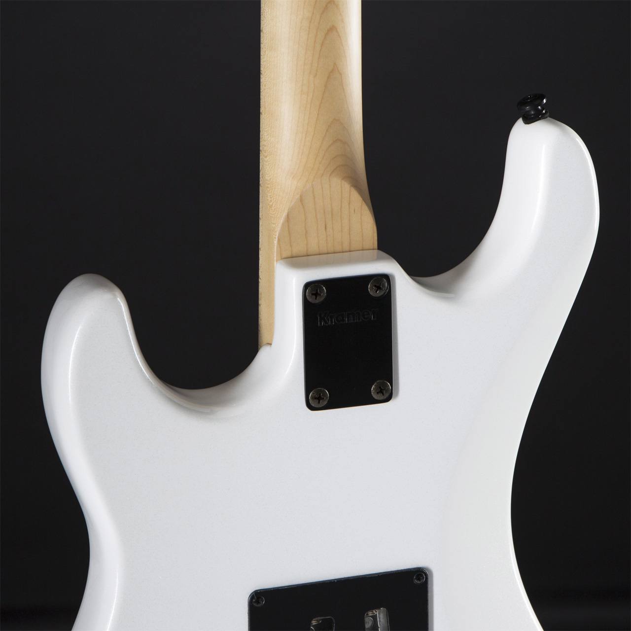 KRAMER Pacer Classic PW Pearl White Rückseite