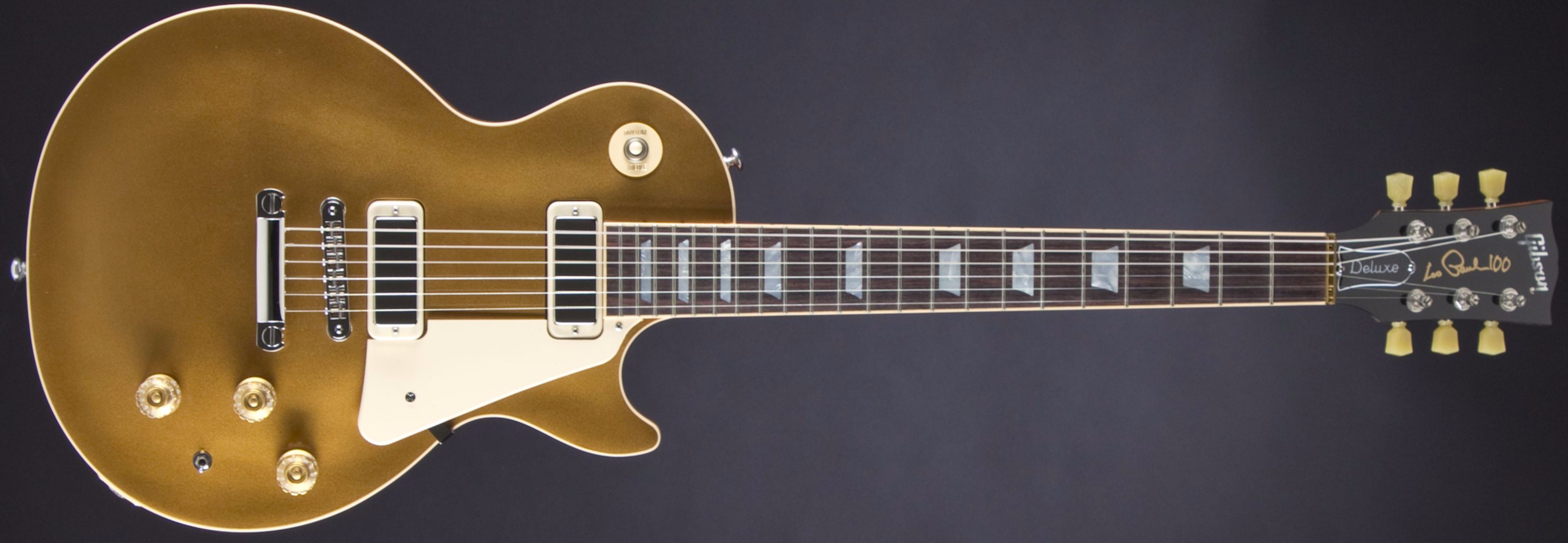 GIBSON Les Paul Deluxe Metallic Gold Top