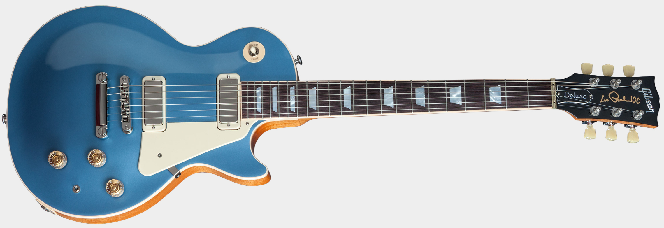 GIBSON Les Paul Deluxe Metallic Pelham Blue