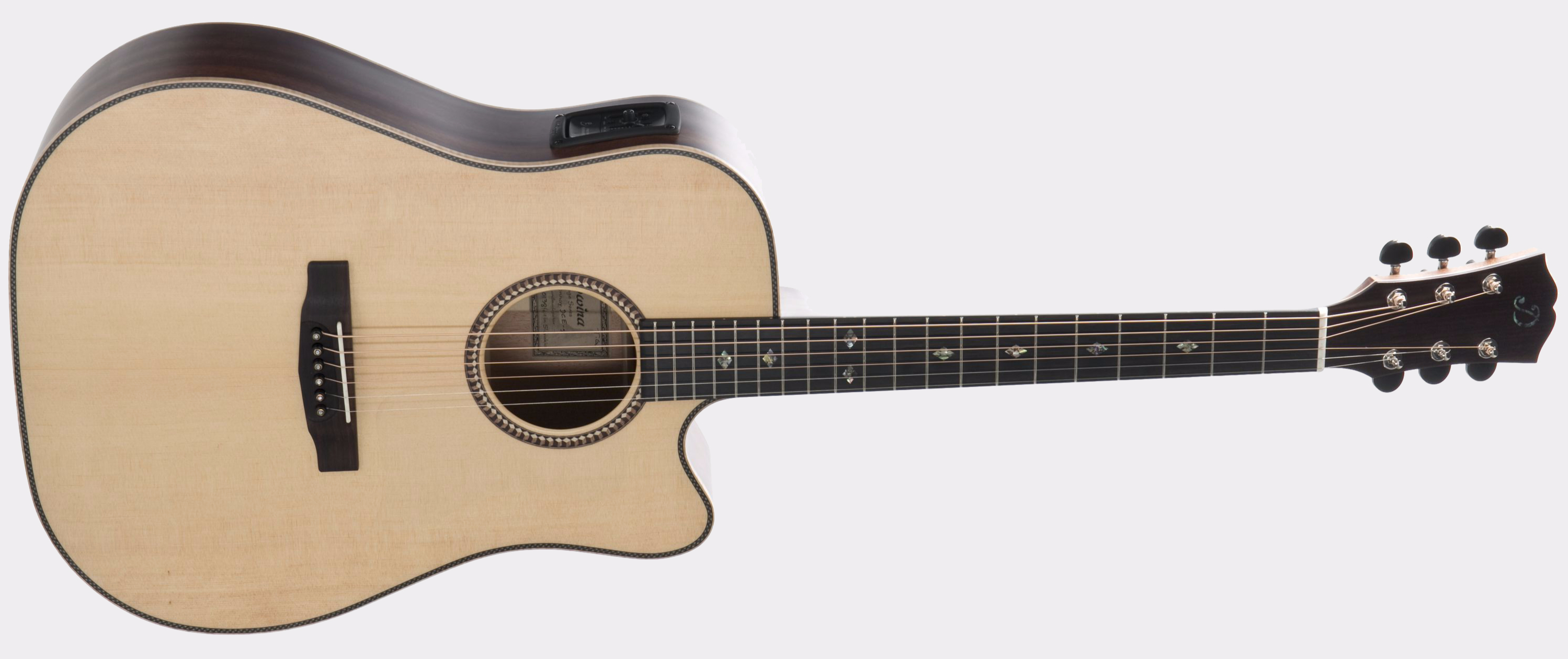 Dowina Guitars Chardonnay DCE Natural