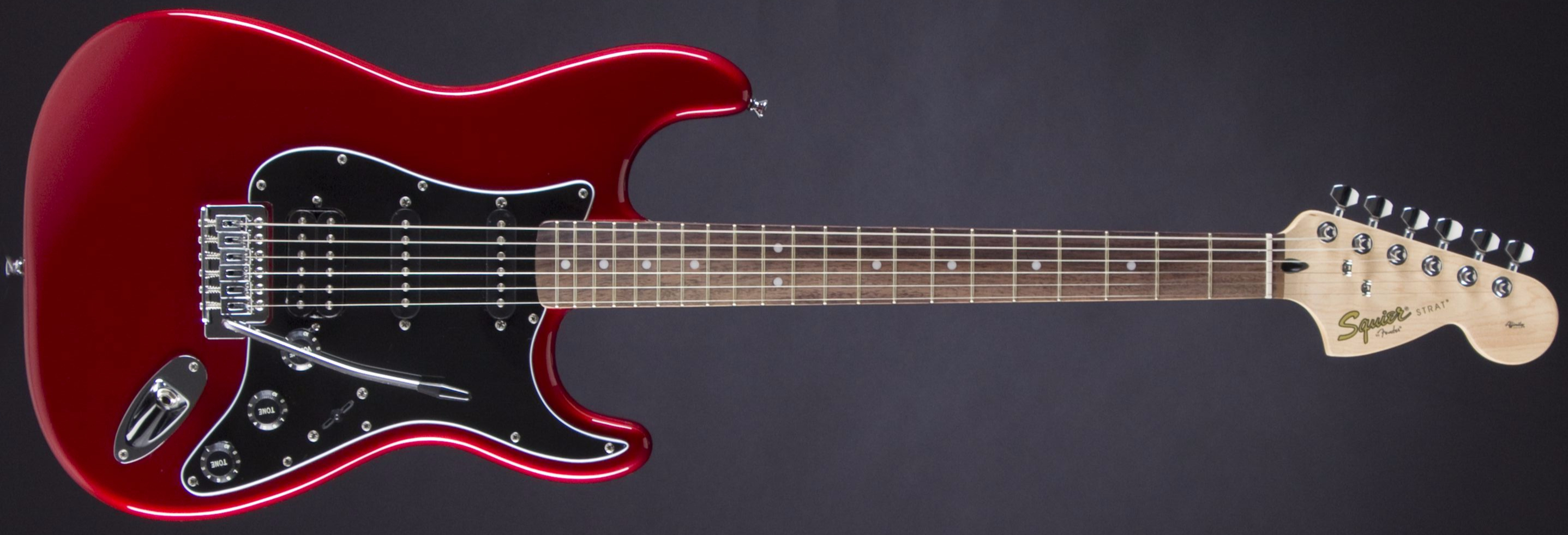 SQUIER Affinity Strat HSS Pack Candy Apple Red Front