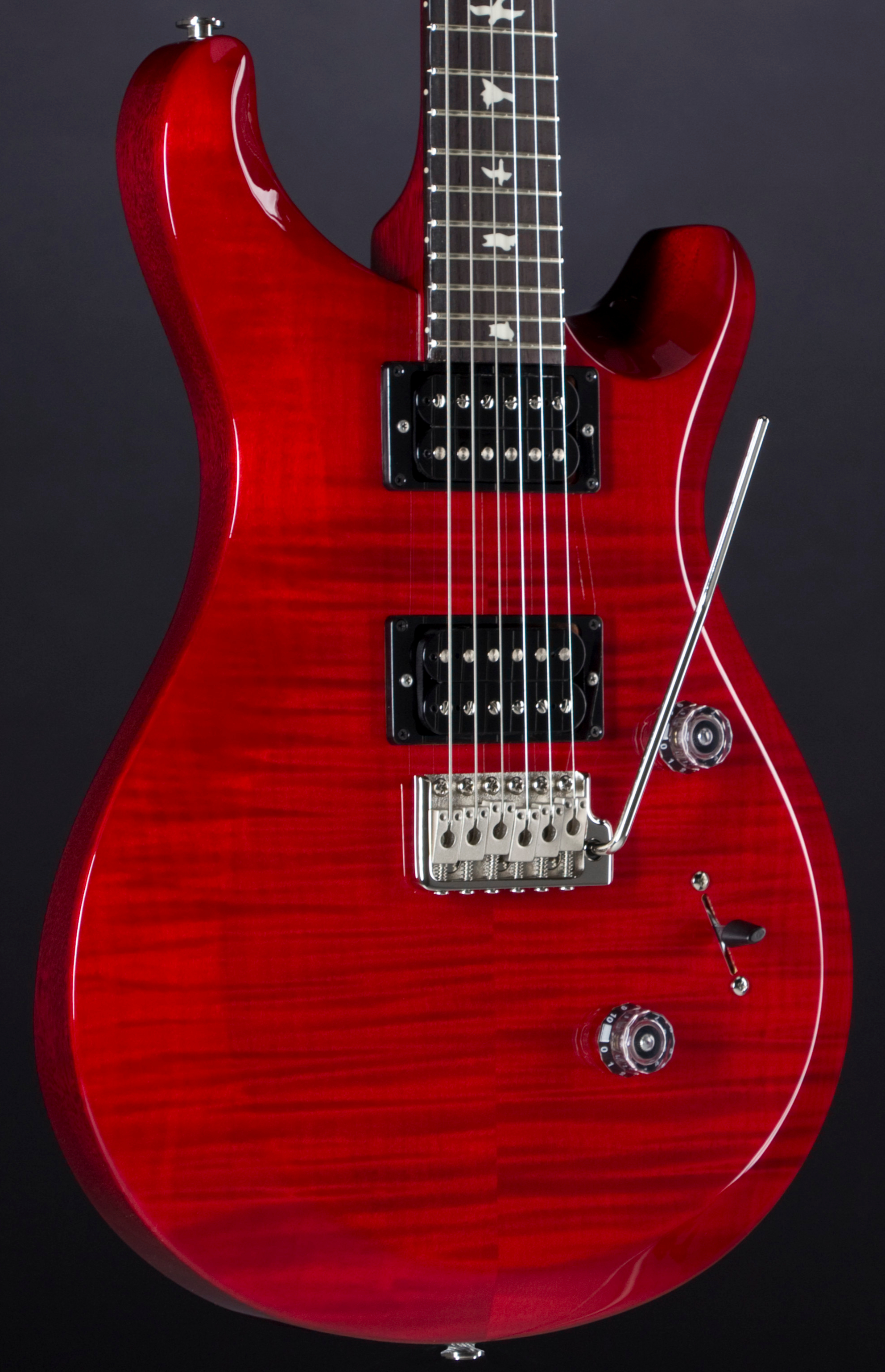 PRS S2 Custom 24 Scarlet Red Body