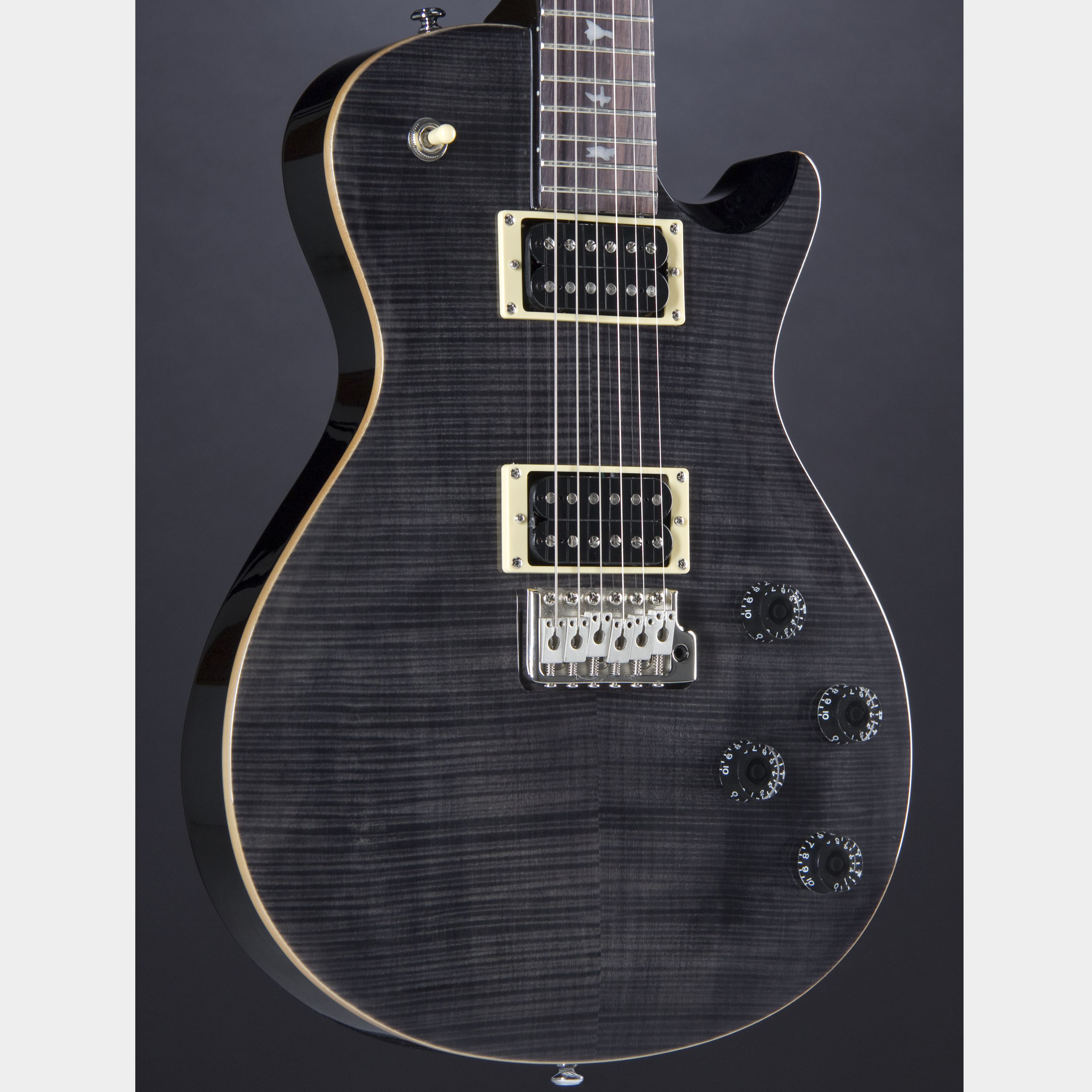 PRS SE Mark Tremonti Custom Gray Black Korpus