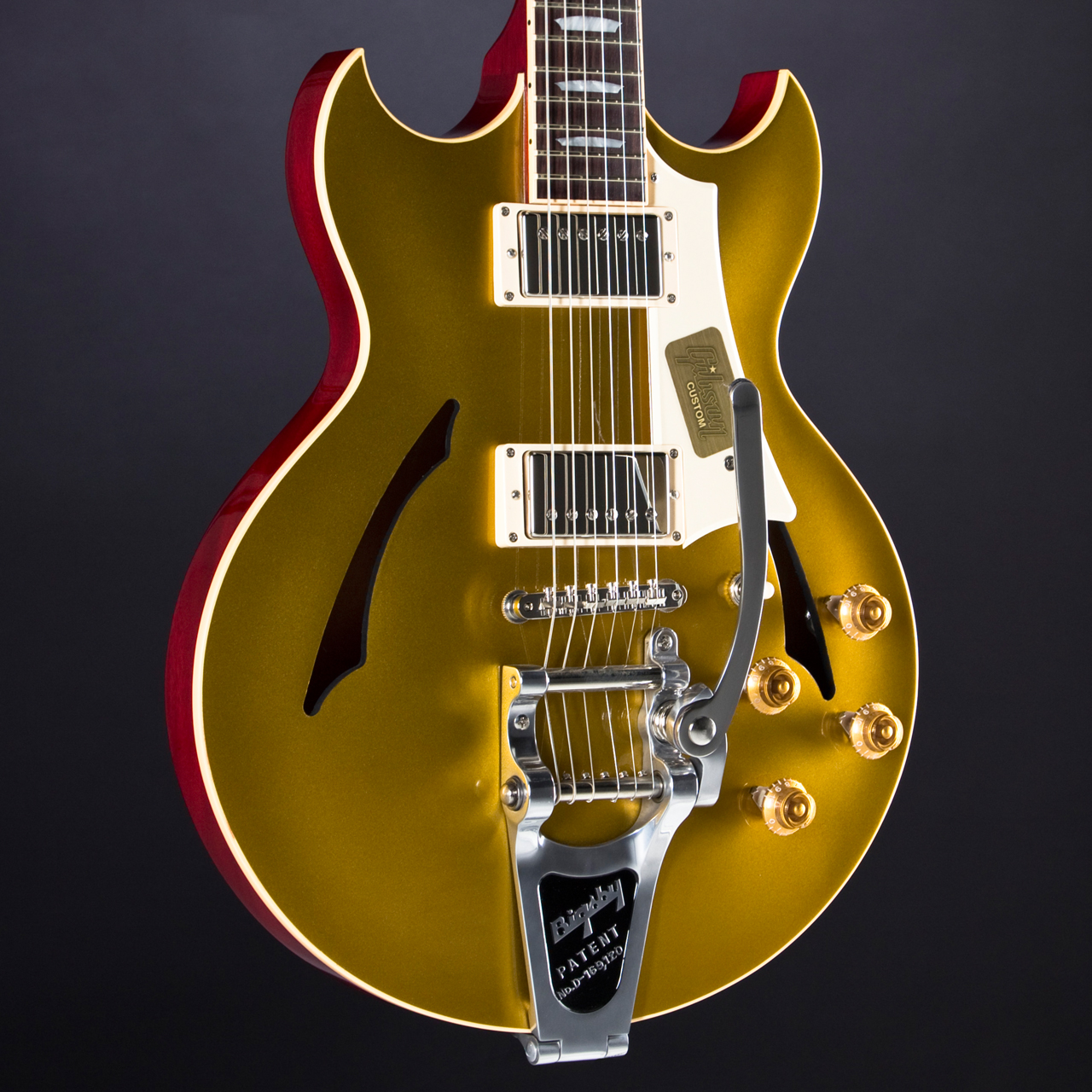 GIBSON Johnny A. Standard Bigsby Body Front