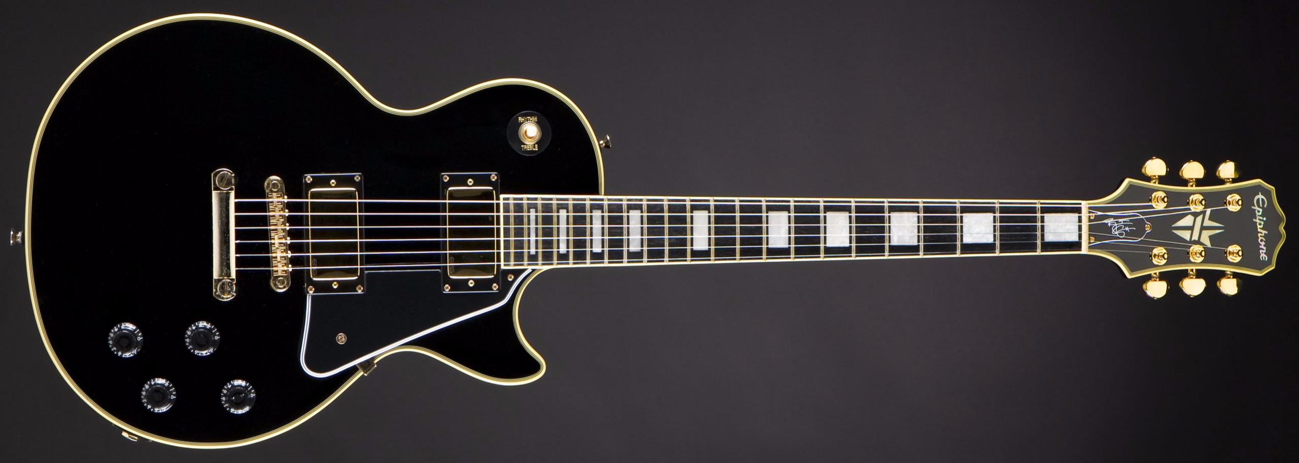 EPIPHONE Limited Edition Björn Gelotte Les Paul Custom