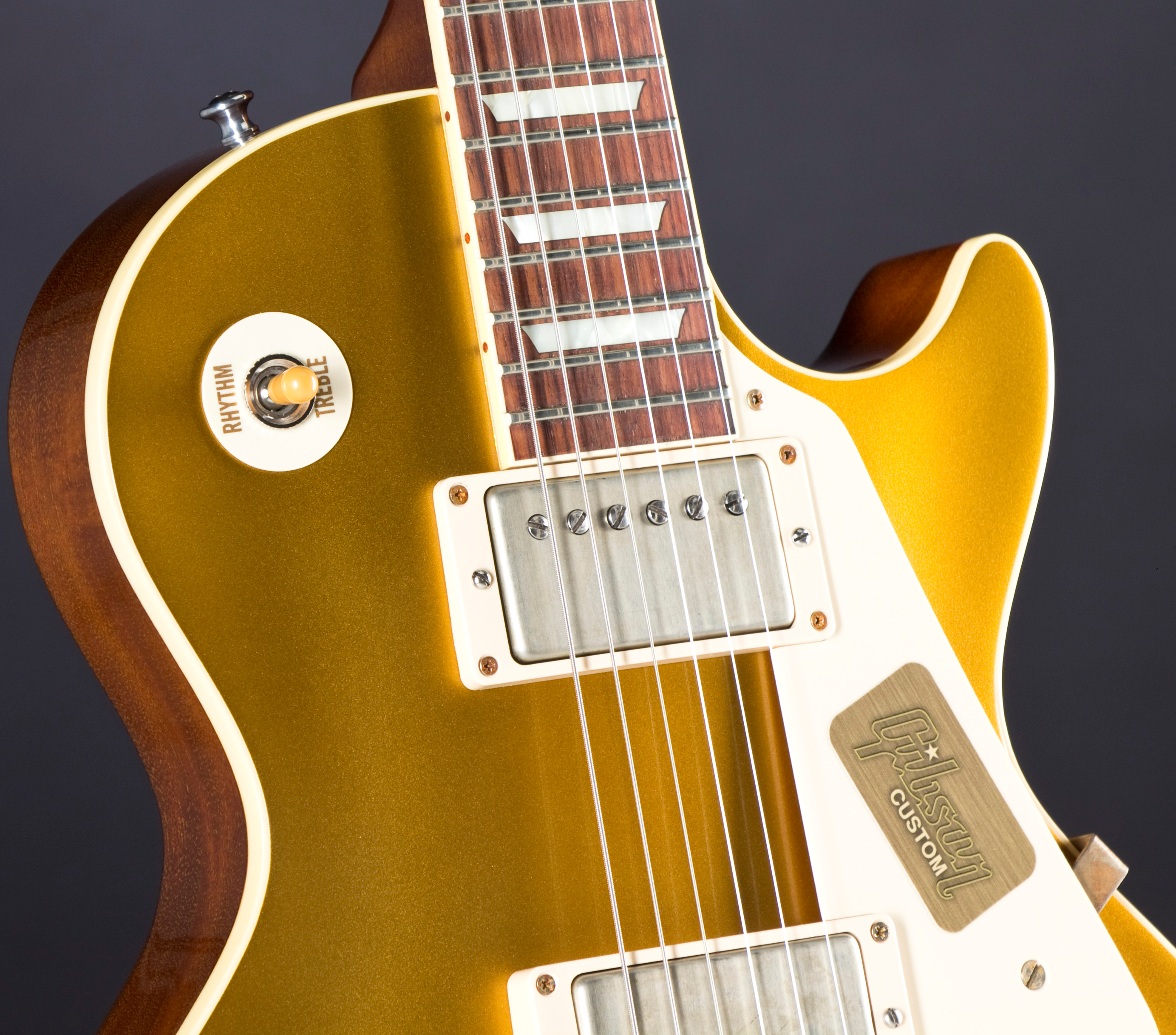 GIBSON CS7 '50s Les Paul Standard GT Antique Gold #CS7 50138 Pickup Detail
