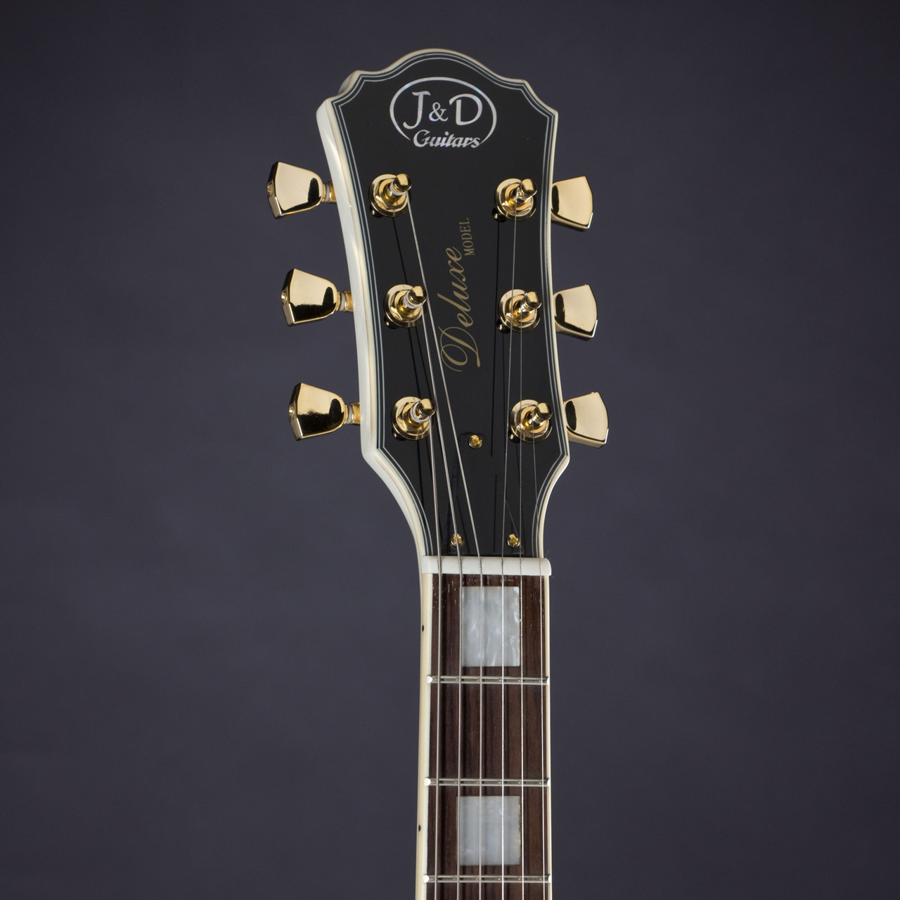 LC300 WH Headstock