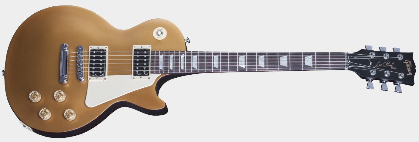 GIBSON Les Paul 50s Tribute 2016 HP Satin Gold Top