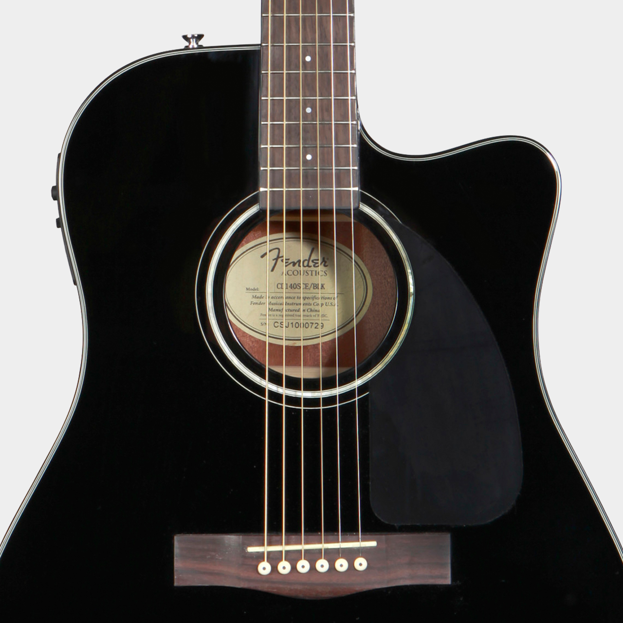 CD-140SCE Black Satin