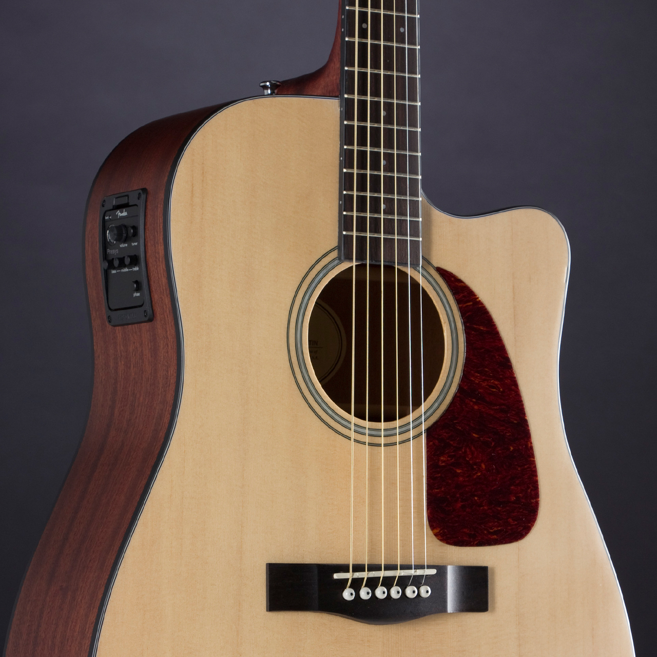 CD-140SCE Natural Satin