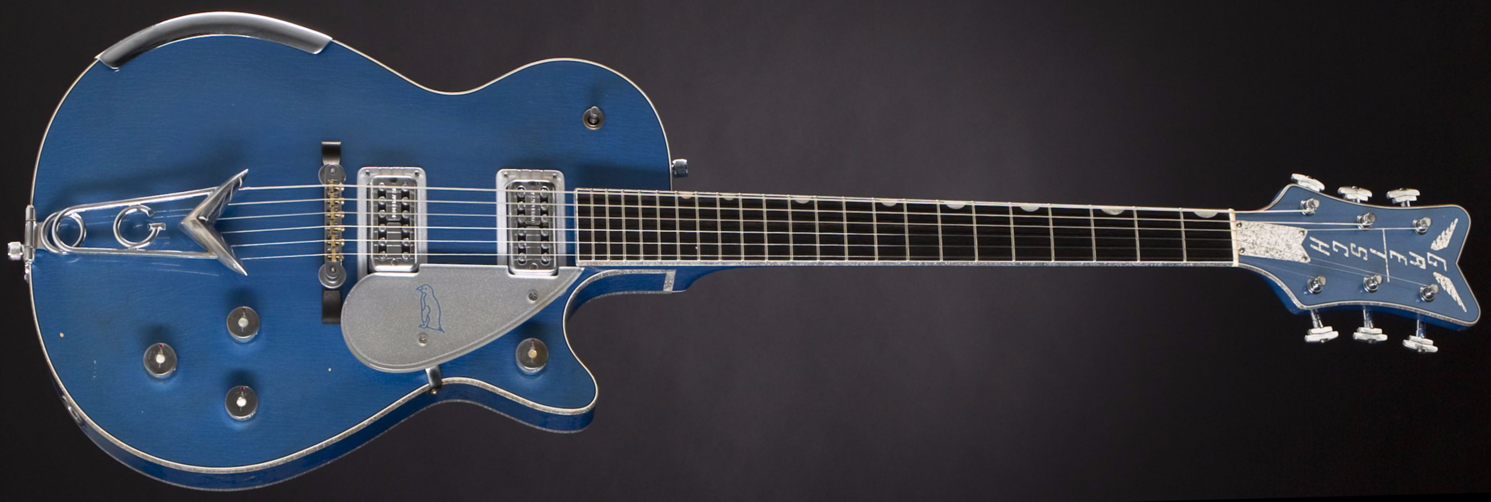 GRETSCH G6134-CS Penguin Lake Placid Blue