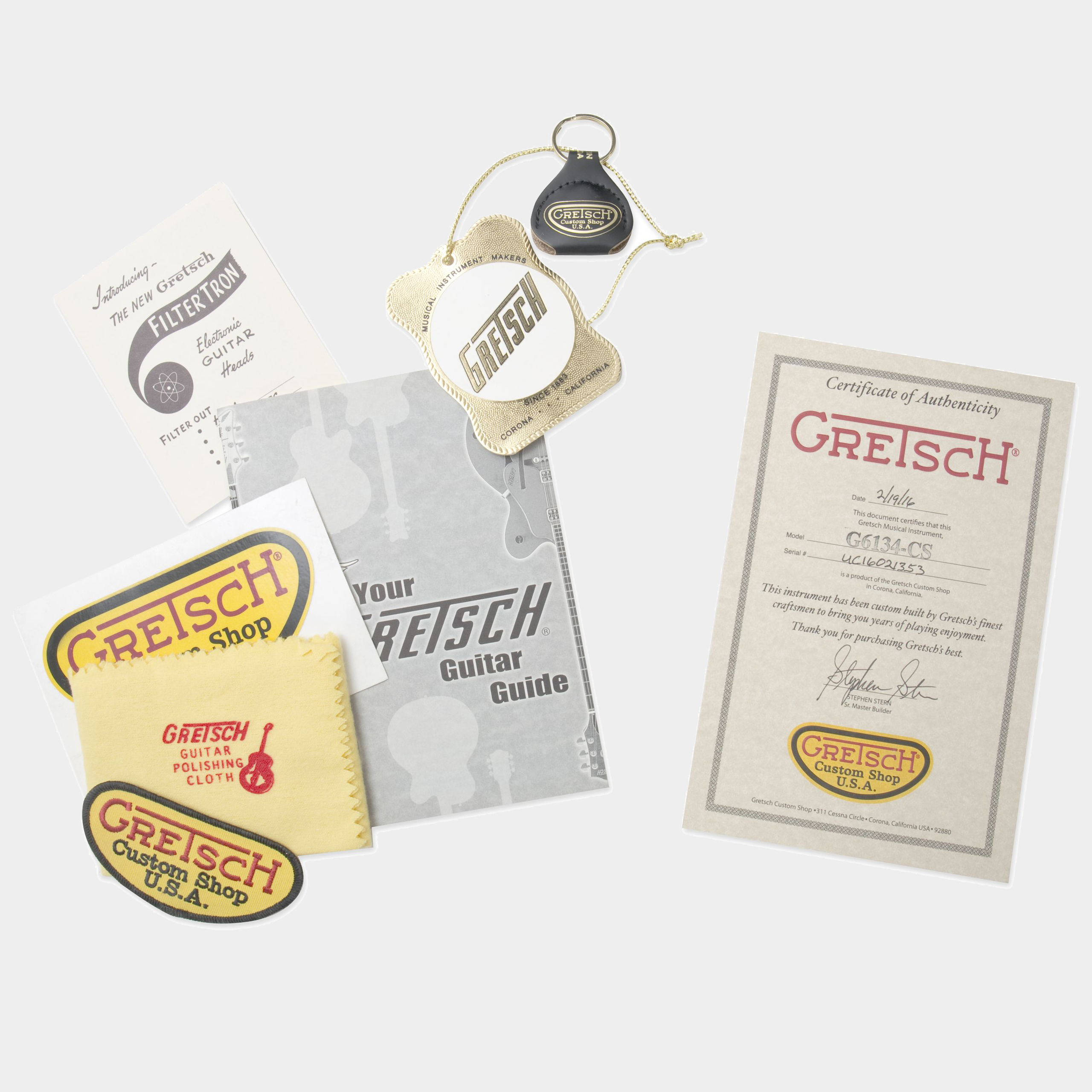 GRETSCH G6134-CS Penguin Case Candies udn Zertifikat