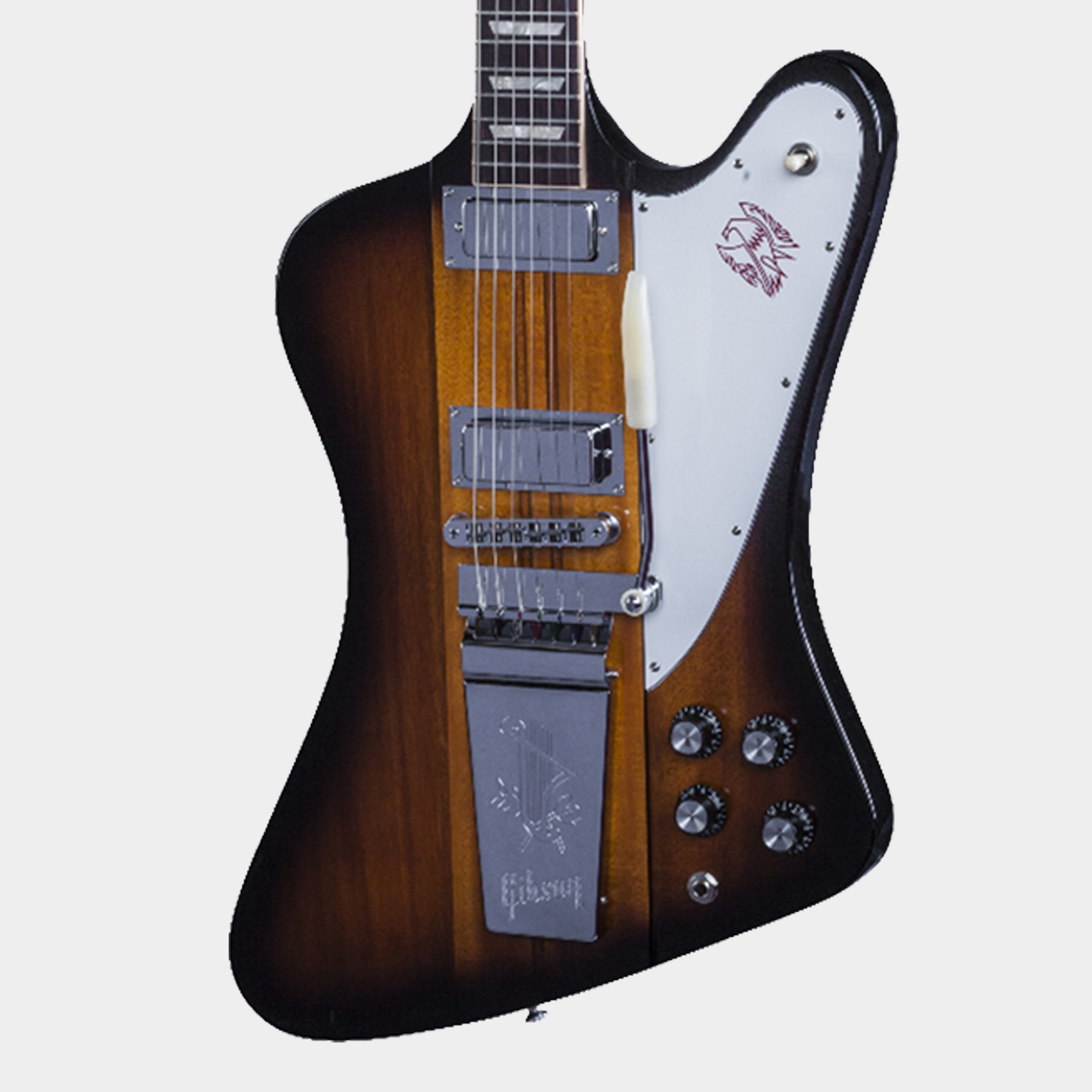 GIBSON Firebird Lyra Tail Vibrola Limited 2016 Vintage Sunburst Body Detail
