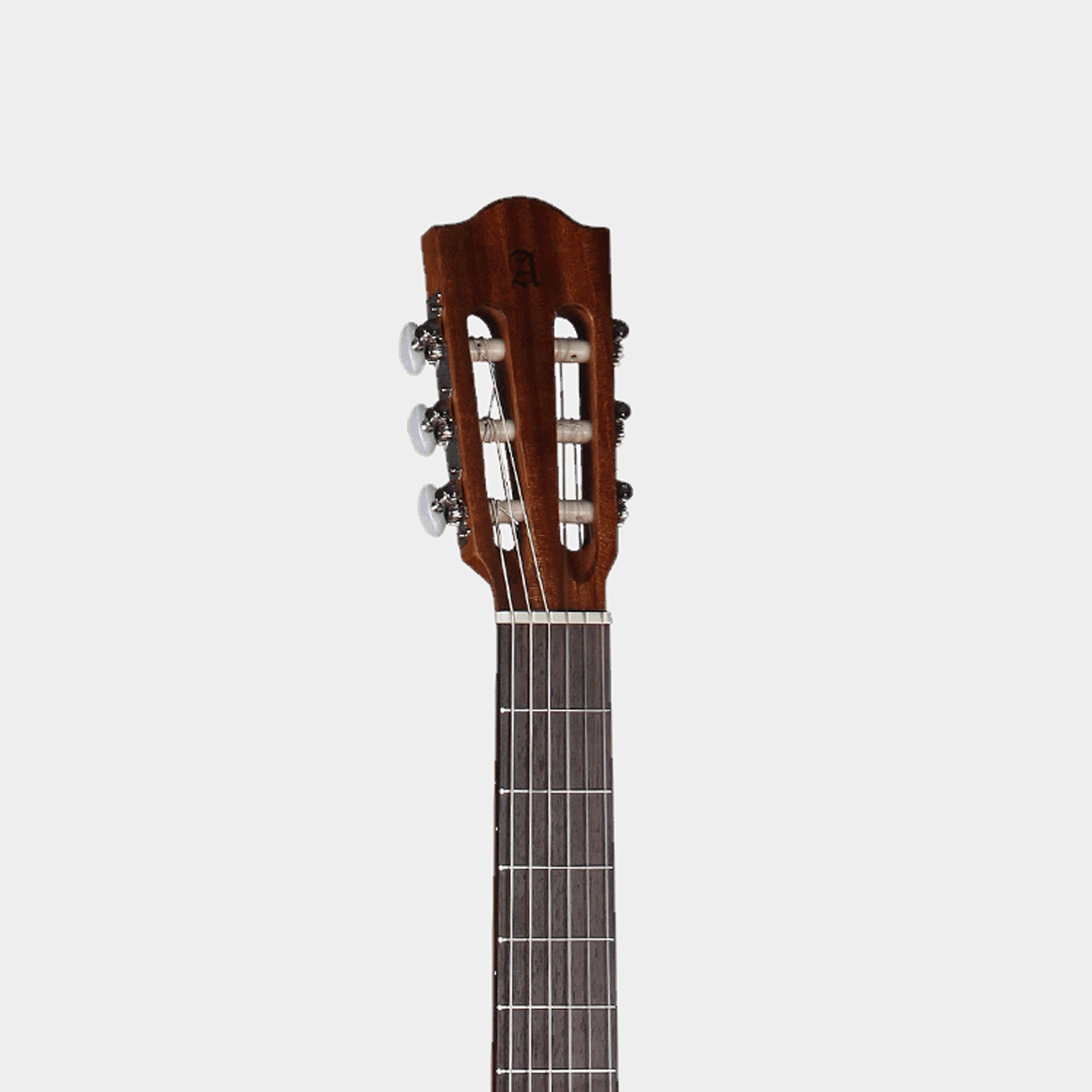 ALHAMBRA Z-Nature CW EZ Open Pore Natural Headstock Detail