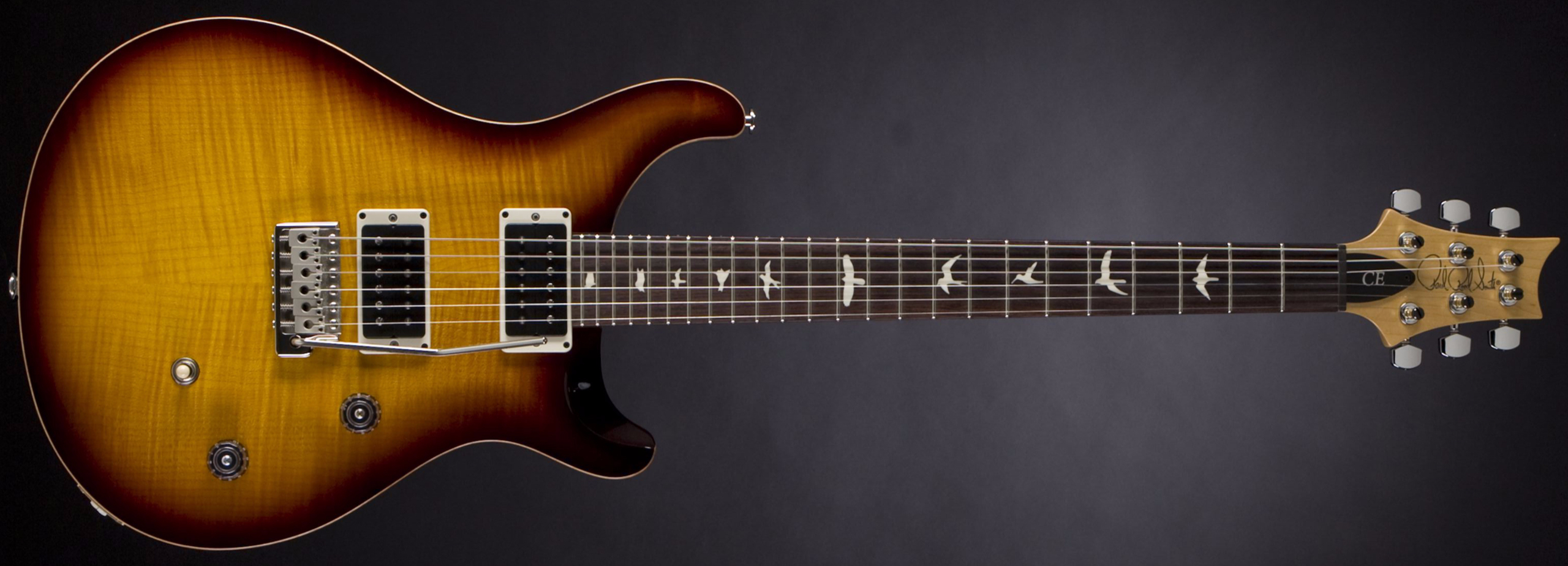 PRS CE 24 McCarty Tobacco Sunburst