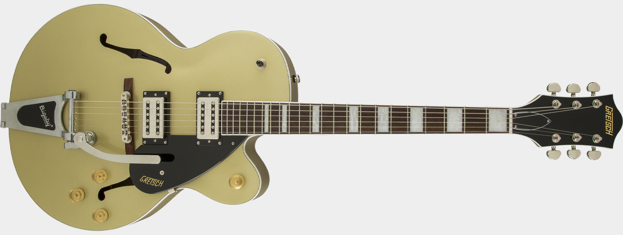 GRETSCH G2420T Streamliner Hollow Body with Bigsby Gold Dust
