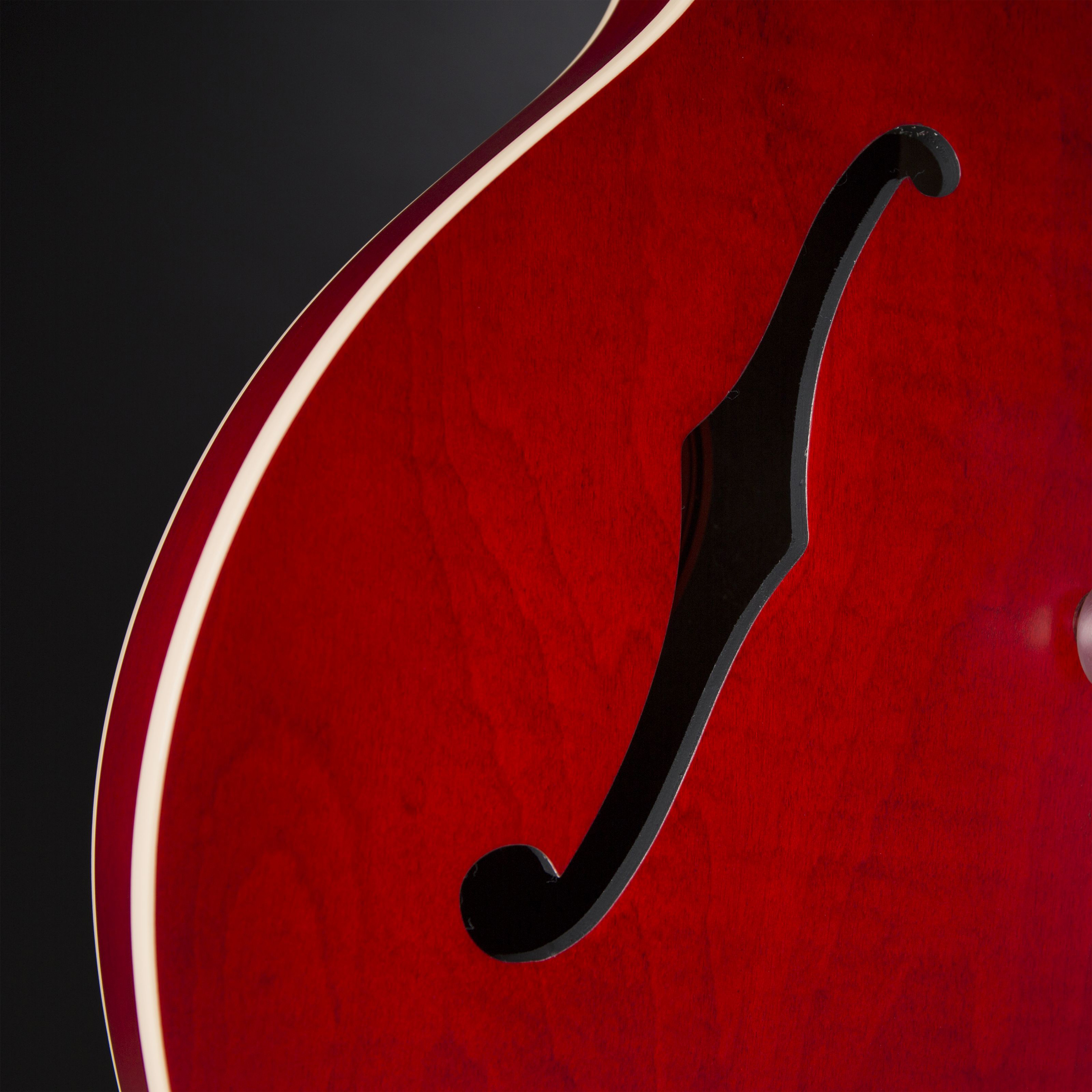 Gibson ES-335 Satin Faded Cherry #11666742 Detail